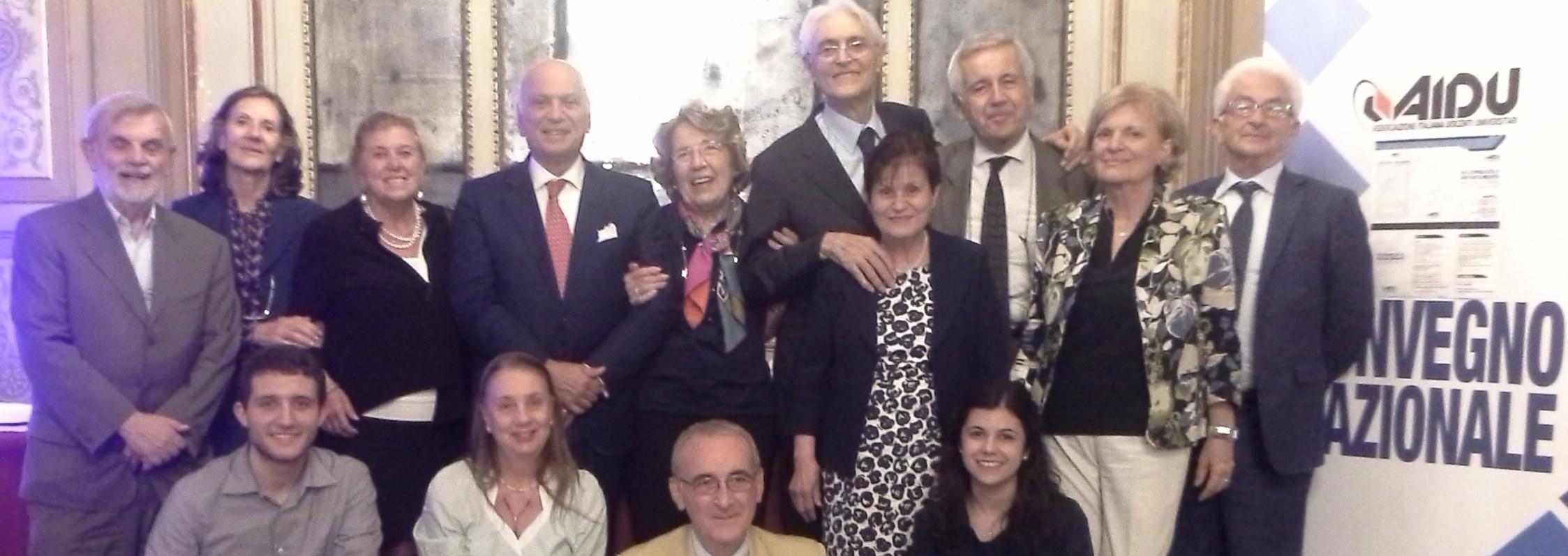 """AIDU Premio """"Humboldt-Newman"""" 2018 a Luciano Corradini, Fondatore dell'AIDU"""